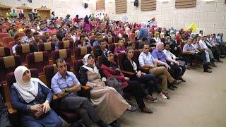 مجلس الطلبة في جامعة خضوري ينظم حفل استرشادي للطلبة الجدد بكلية الاقتصاد والأعمال