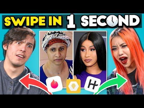 Who Swiped Left On Cardi B?   Swipe In One Second