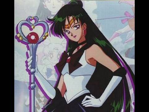 Sailor Pluto- Sailor Moon Series (видео)
