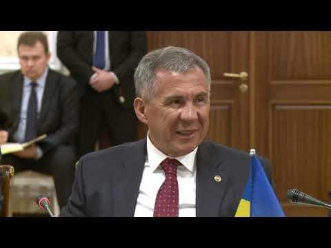 Президент Республики Молдова провел встречу с Главой Республики Татарстан