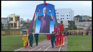 Phường Quang Trung: Khai mạc  Đại hội TDTT lần thứ VIII,  hưởng ứng ngày chạy Olimpic vì sức khỏe toàn dân năm 2017