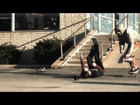 0 Chutes en skate en Slowmotion 1000fps
