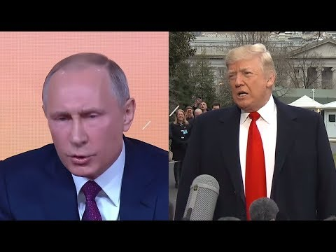At his year-end news conference, Putin sounded a lot like Trump