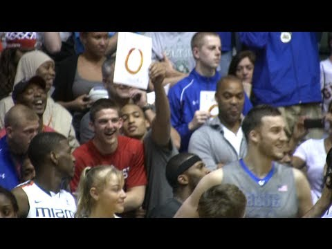 JP Tokoto Dunk Contest - North Carolina Commit JP Tokoto is already into the Duke/North Carolina rivalry as he gave Miles Plumlee a zero score on his first dunk at the 2012 College D...
