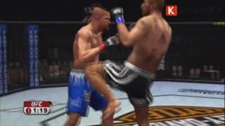 UFC 2009 Undisputed - Live Review Deutsch (KGamer.net) HD