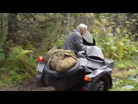 Отдых в тайге с родителями (видео)