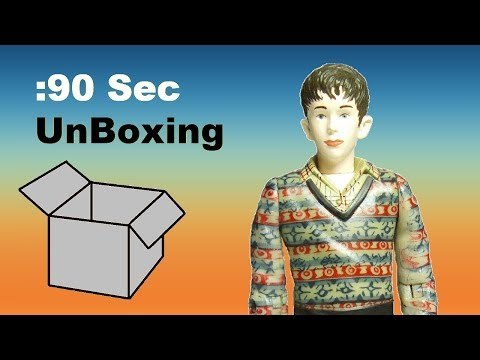 90 Sec Unboxing Charlie and the Chocolate Factory 2005 Action Figure