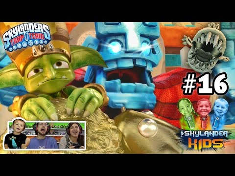 16 - Mom, Dad & Chase take on Grave Globber (Golden Queens Son?), Worm Chompies, Bone Chompies, Undead Toilets and more! lol Almost 100%, just missed an area but all collectibles found. :) What.