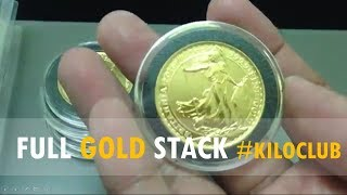 Just wanted to share the results of our two-year stacking journey. We are currently in the range of about 33.5 ounces. This is what approximately USD$ 40,000 ++ worth of gold can look like. Missing from this video are 8 x 1/10 ungraded fractional coins. We are now proud members of the Gold Kilo Club!We will be taking this video down in about a week's time, so please take time to enjoy this video while it is still up!We would appreciate if you could help other people find and enjoy our channel. It is our dream to become a much larger channel in the future. Please like, comment, subscribe, and shoutout!Wishing you continued prosperity and success my friends!Music: Royalty Free Music from Bensound. Little Idea from www.bensound.com.