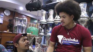 Video Ali kribo (master darbuka) GREBEK toko alat musik islami kali malang MP3, 3GP, MP4, WEBM, AVI, FLV Desember 2018