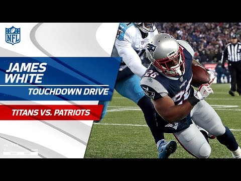 Video: New England Extends Lead with James White's 2nd TD! | Titans vs. Patriots | NFL Divisional Round HLs