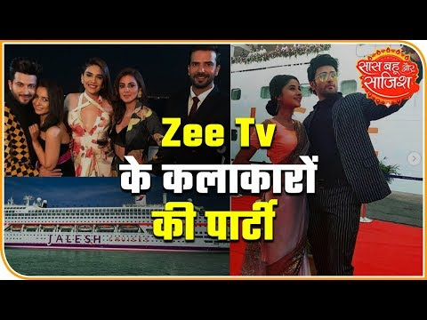When Zee TV Actors Partied Hard | Saas Bahu Aur Saazish