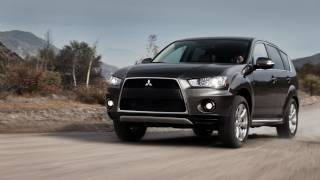 2012 Mitsubishi Outlander GT - Drive Time Review With Steve Hammes