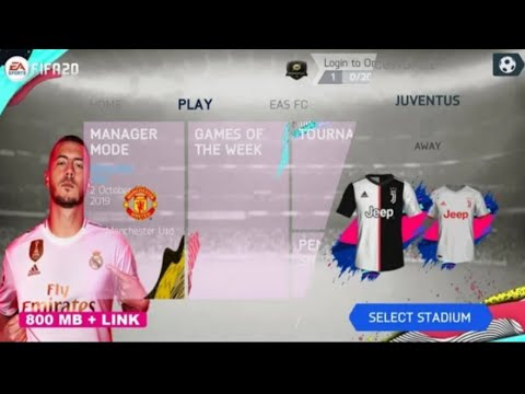 [800MB] FIFA 14 MOD FIFA 20 ANDROID V.4.1 OFFLINE NEW MENU FACE KITS TRANSFER UPDATE 2019/2020