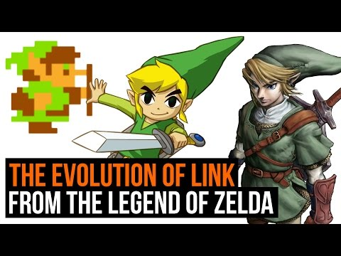 The Legend of Zelda: The Evolution of Link - 1986 to 2016