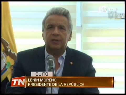 Presidente Lenín Moreno se reunirá este miércoles con Donald Trump