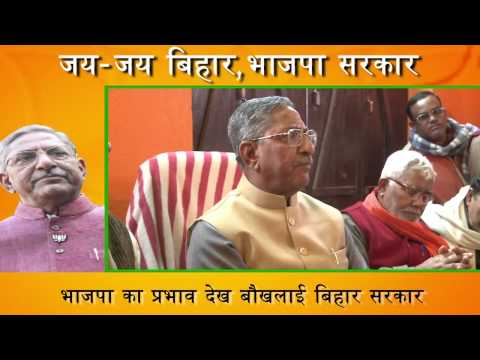 सरकार मैदान नहीं देती है तो भाजपा सड़क पर जयंती मनाएगी : Nand Kishore Yadav