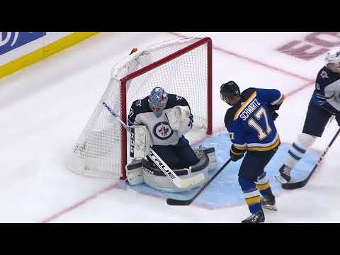 Video: Winnipeg Jets vs St Louis Blues | NHL | OCT-04-2018 | 20:00 EST