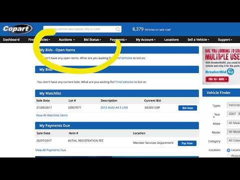 Copart Home Page >> Online Car Auctions Videos Copart Uk