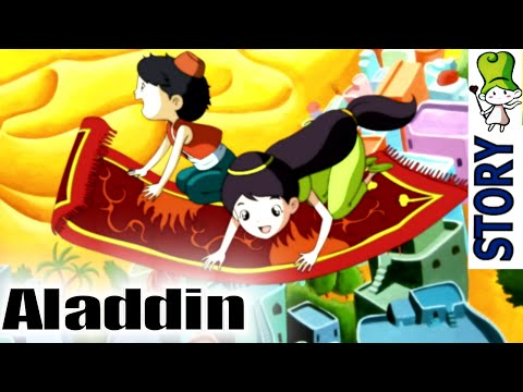 bedtime - Play All Stories : http://goo.gl/aekZs1 YouTube Channel : http://www.youtube.com/story Aladdin is an impoverished young ne'er-do-well in a Chinese town, who ...