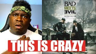FIRST TIME HEARING - Bad Meets Evil - A Kiss - REACTION