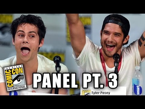 Tyler - Teen Wolf Reads Fan Fiction ▻▻ http://youtu.be/cLThAUgVRG0 More Celebrity News ▻▻ http://bit.ly/SubClevverNews Part 3 of the Teen Wolf season 4 panel at Comic-Con 2014 with Dylan O'Brien,...
