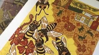 Ithaca Printmaker Jenny Pope | Arts & Culture Shorts | WSKG Arts