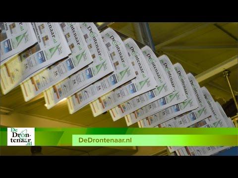 Papieren krant van DeDrontenaar.nl wordt vandaag en morgen verspreid