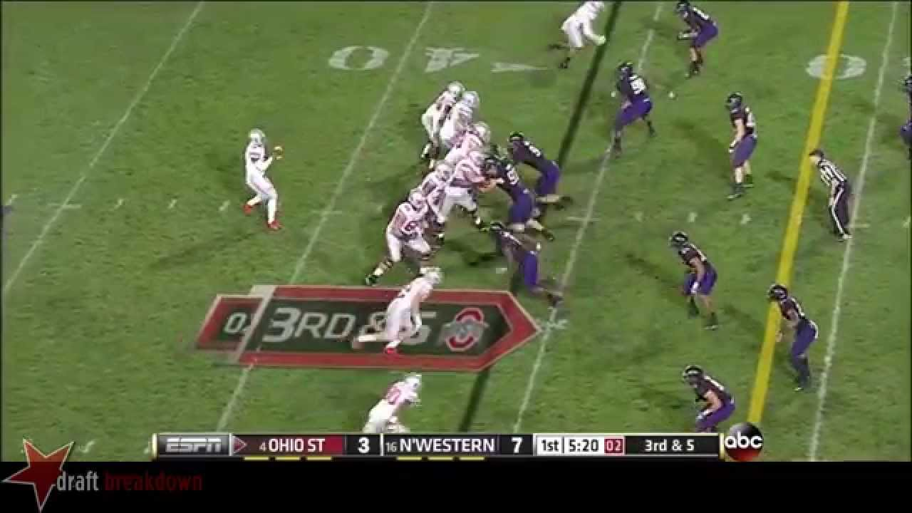 Braxton Miller vs Northwestern (2013)