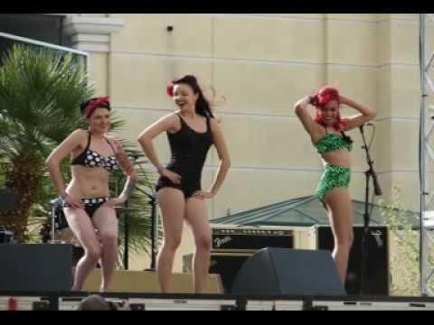 Rockabilly Weekender Las Vegas TIKI POOL PARTY 2010