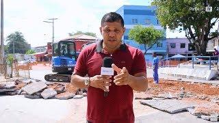 Praça João Martins recebe obras de revitalização