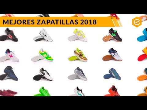 TOP 5 ZAPATILLAS De FUTBOL SALA 2018