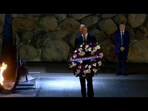 Prinz William besucht bei erster Israel-Visite Yad Va ...