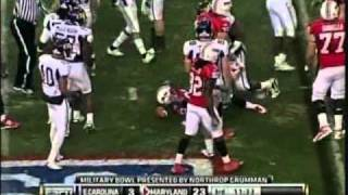 "Da'Rel Scott vs ECU ""Military Bowl 2010″ vs  ()"