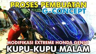 Video PROSES PEMBUATAN HONDA GENIO EXTREME G-CONCEPT KUPU-KUPU MALAM (Behind the process of making cars) MP3, 3GP, MP4, WEBM, AVI, FLV Juni 2019