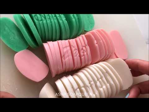 Slicing Soft Soaps  VISUAL SATISFACTION