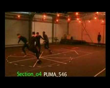 "The making of the ""PUMA Until then"" commercial"