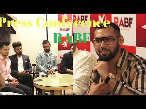 Press Conference RABF & App Launch With Kaushal Prakash & Other Celebs