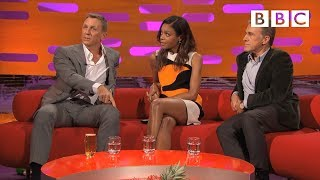 Daniel Craig and Christoph Waltz discuss filming injuries | The Graham Norton Show - BBC