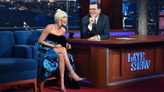 Video Full Interview: Lady Gaga Talks To Stephen Colbert MP3, 3GP, MP4, WEBM, AVI, FLV November 2018