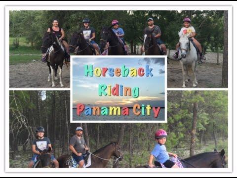 Panama City Beach - Day 3 Horseback Riding