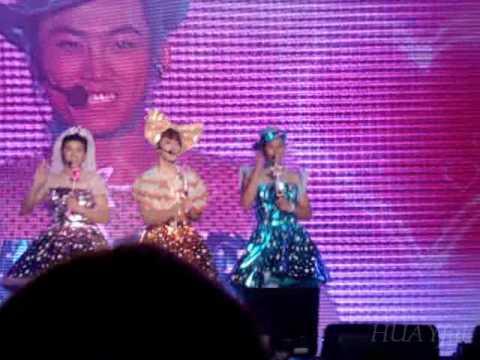 [100731] 2PM First Concert – 14. Taekyeon, Chansung, Wooyoung ~ Orange Caramel's Magic Girl Parody