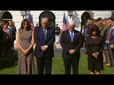 Ενός λεπτού σιγή στον Λευκό Οίκο