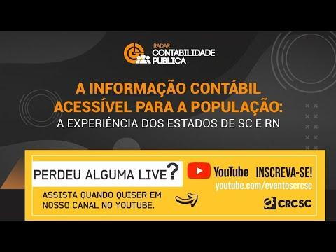 """Radar Contabilidade Pública """"A informação contábil acessível para a população: a experiência dos Estados de SC e RN"""""""