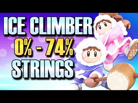 Super Smash Bros Ultimate: Crazy Ice Climbers Combos ft. MagiMagi (видео)