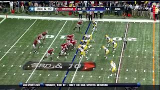 Morris Claiborne vs Georgia 2011