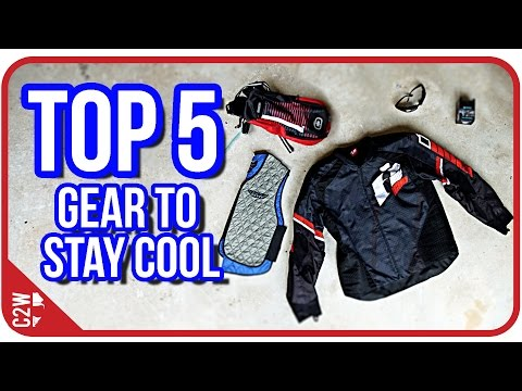 Top 5 HOT Weather Riding Gear (2016)