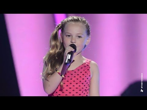enough - Molly gave a stunning rendition of Kasey Chamber's song. Go to www.thevoicekids.com.au for more news, videos and backstage galleries.