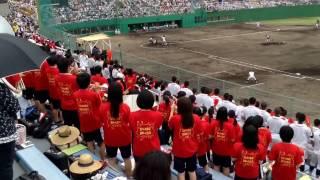 いなべ総合 応援 「プリティフライ」 2016年 三重大会 準決勝