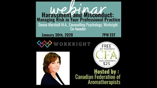 Harassment and Misconduct - Managing Risk in Your Professional Practice